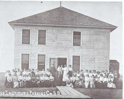Original Perkins County Courthouse