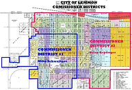 City of Lemmon Commissioner Districts