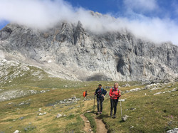Chus. Trekking Picos de Europa