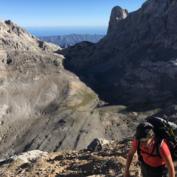 Ivonne. Hiking Picos de Europa
