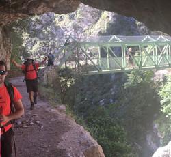 José María. Trekking Picos de Europa