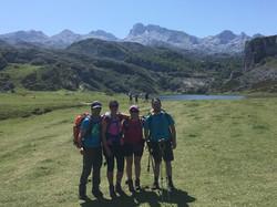 Jesús. Trekking Picos de Europa