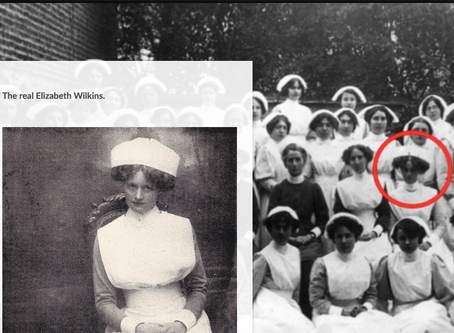 Nurse Wilkins, her relationship with Edith Cavell