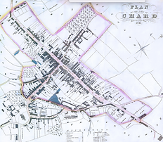 Plan of Chard Circa 1841.png