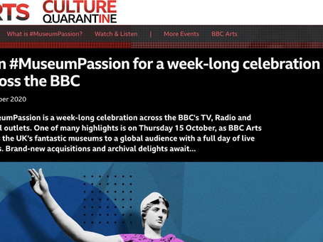 Museum Passion - Get involved with the BBC on October 15th