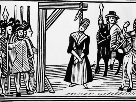 from the Roger Carter Collection - Gallows and Witches