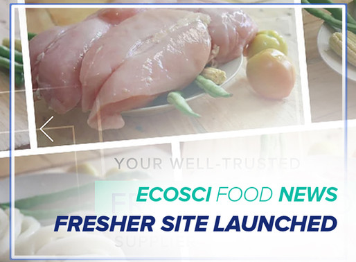 Newer EcoSci Food Site Launched!