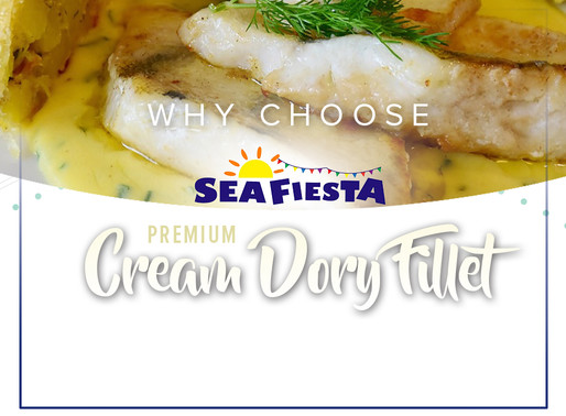 Sea Fiesta Cream Dory Fillet