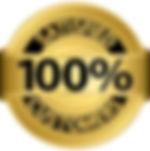 100% Satisfied Customers badge