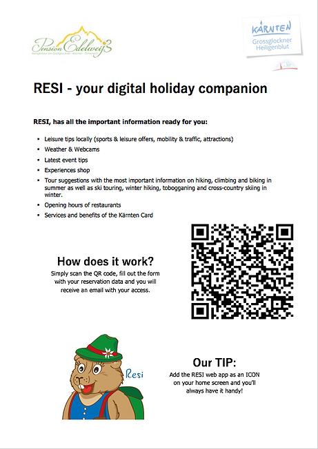 RESI - your digital holiday companion.pn