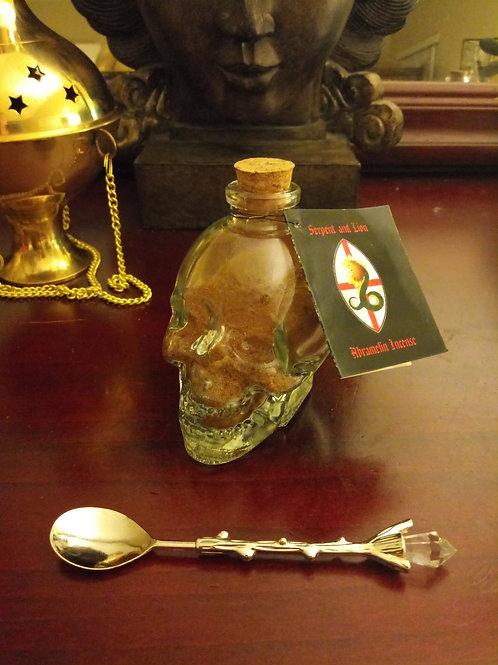 Abramelin Incense Skull 1oz
