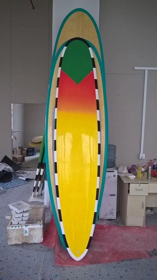 LONGBOARD CUSTOM EPOXY