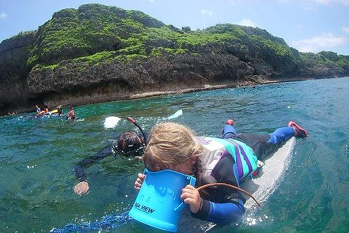 Rent snorkeling  fins and lifejacket