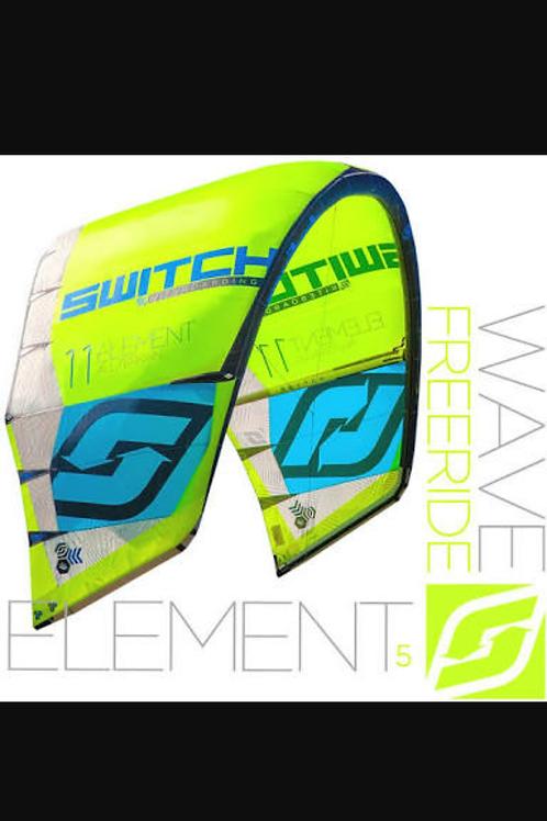 Kitesurfing kite switch element 5 kite only buy now