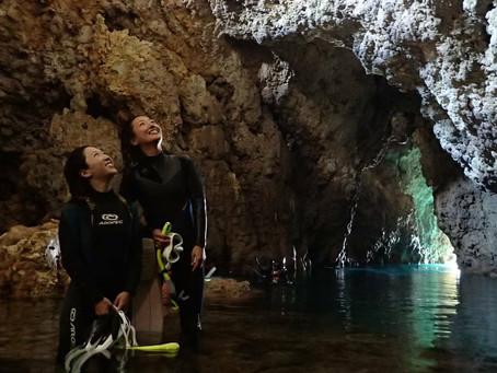 Snorkeling tour blue cave okiawa . 5000 yen. .