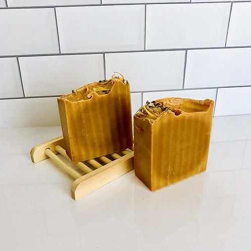 TURMERIC + LEMONGRASS BAR SOAP