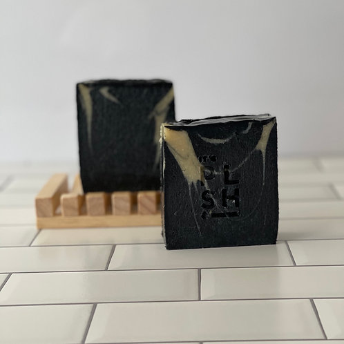 ACTIVATED CHARCOAL + KAOLIN BAR SOAP