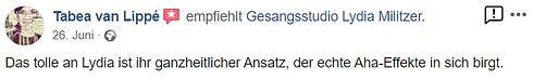 Gesangsunterricht in Dresden Selbstvertrauen
