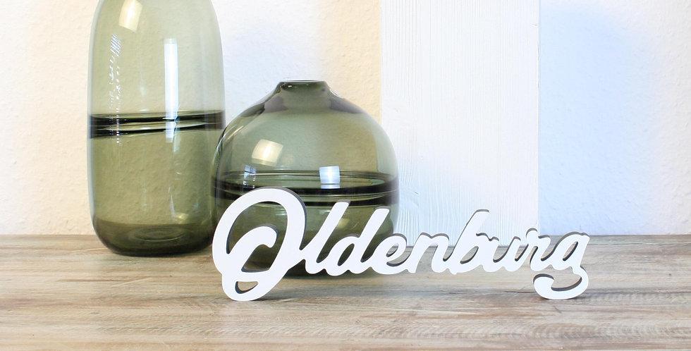 Oldenburg - 3D Schriftzug