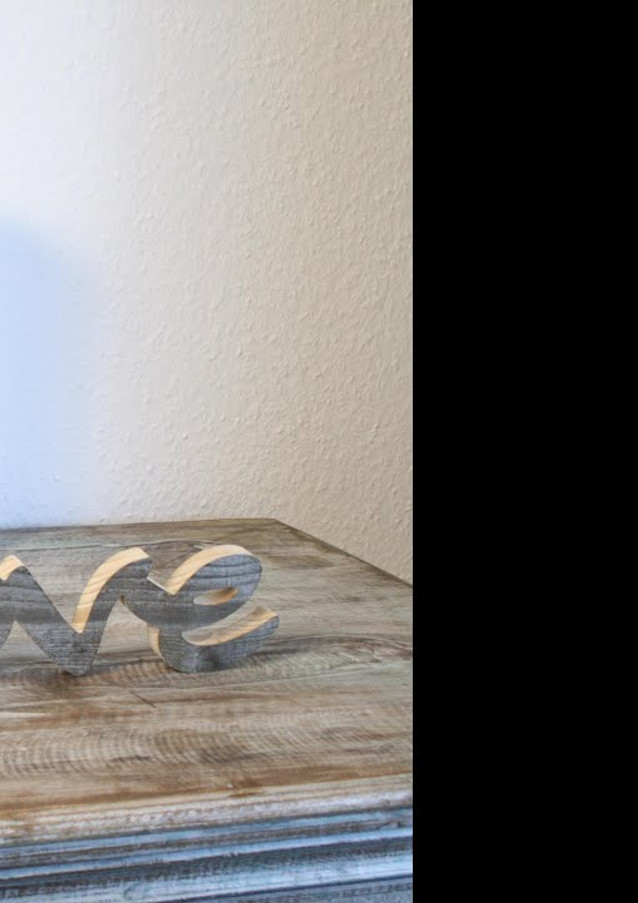 Ein 3D Schriftzug entsteht