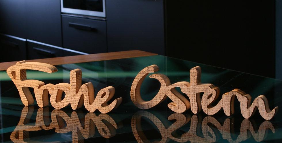 Frohe Ostern - 3D Schriftzug