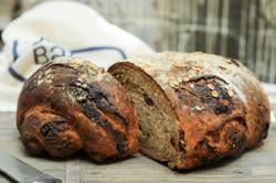 Honey Wheat Date Bread