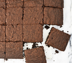 Delicious Dog Tag Brownies