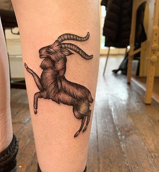 Little black goat for Zela ✨_•_•_•_•_•_#