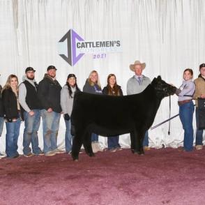 Caitlyn Skiles  Cattlemen's Congress  4th Overall Prospect Heifer