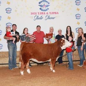 Addison Poe TJHA & TJPHA State Show Grand Champion Mini Pre-Junior Female