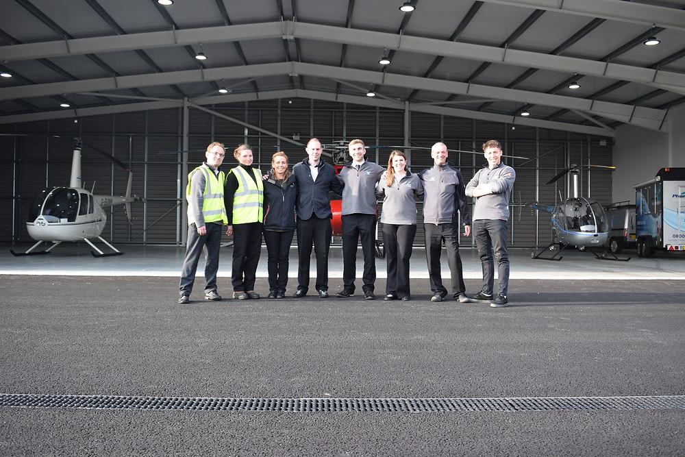 Phoenix Helicopters staff members