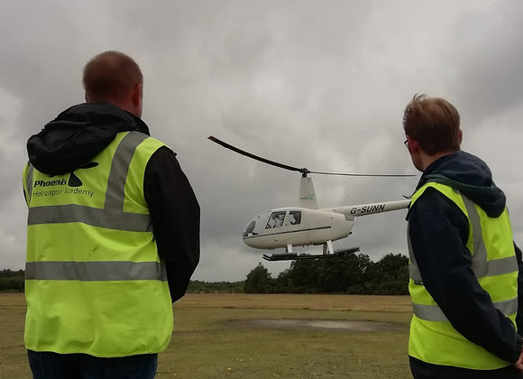 Helicopter Buzz Flight-Blackbushe
