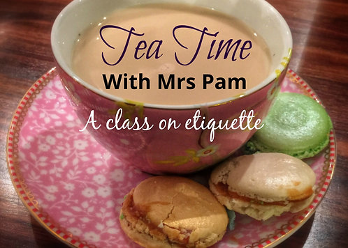Tea Time with Mrs Pam