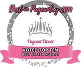 voted top ten state pageant award logo.p