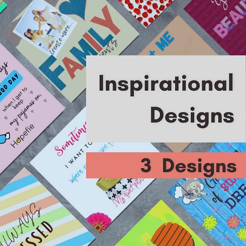 3 Inspirational Designs