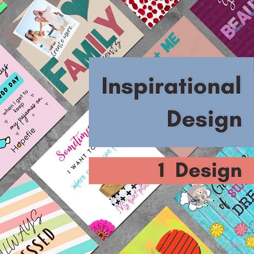 1 Inspirational Design