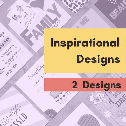 2 Inspirational Designs