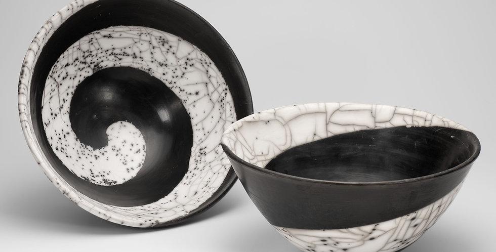 Large Naked Raku Bowl