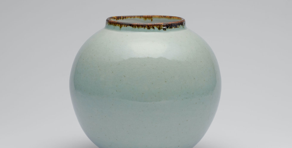 Celadon Moon Jar, Medium