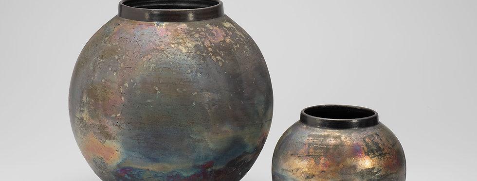 Large Moon Jars.