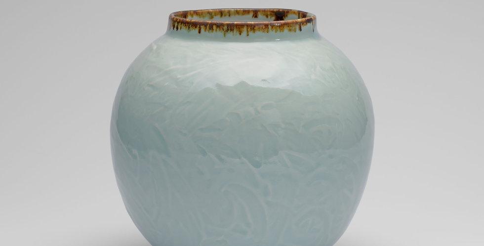 Celadon Moon Jar, Large