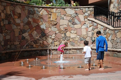 Internet Picture for Water fountain art at beaver creek_(360p)