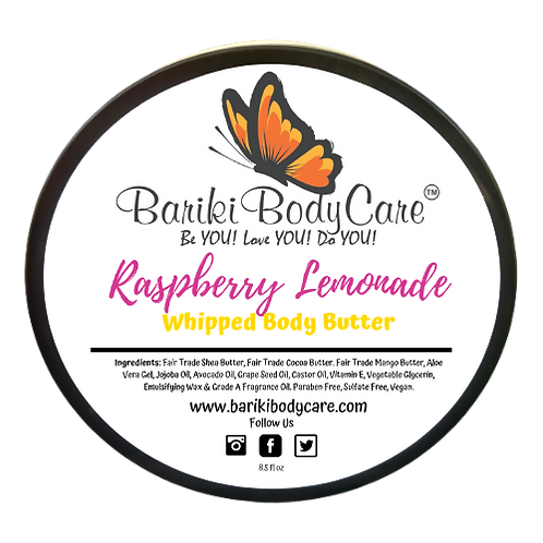 Raspberry Lemonade Whipped Body Butter - 8.5 FL OZ