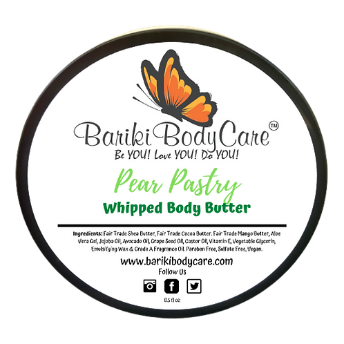 Pear Pastry Whipped Body Butter - 8.5 FL OZ
