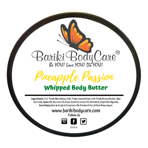 Pineapple Passion Whipped Body Butter - 8.5 FL OZ