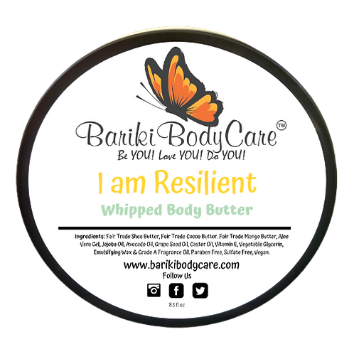 I am Resilient Whipped Body Butter - 8.5 FL OZ