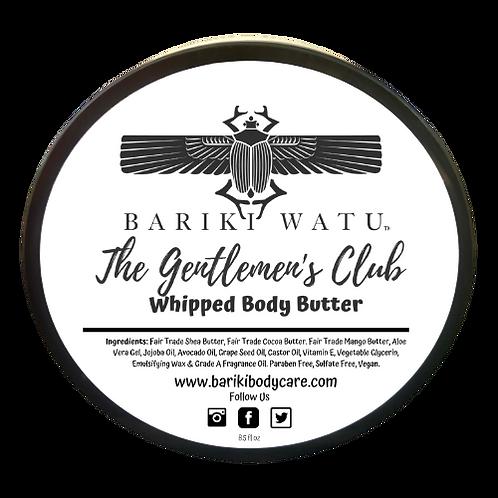 The Gentlemen's Club Whipped Body Butter - 8.5 FL OZ