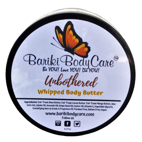 Unbothered Full Size Body Butter unscented for people with sensitive skin