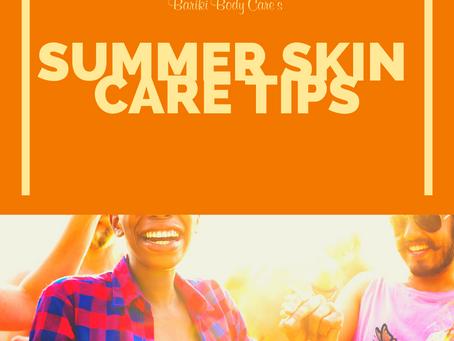 5 Summer Skin Care Tips