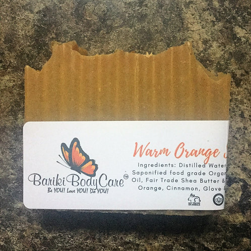 Warm Orange Spice Bar Soap - 4 FL OZ